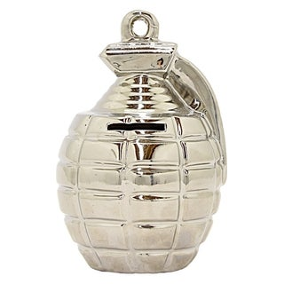 "Three Hands 6.25 "" Silver - GRENADE MONEY BANK-SILVER"