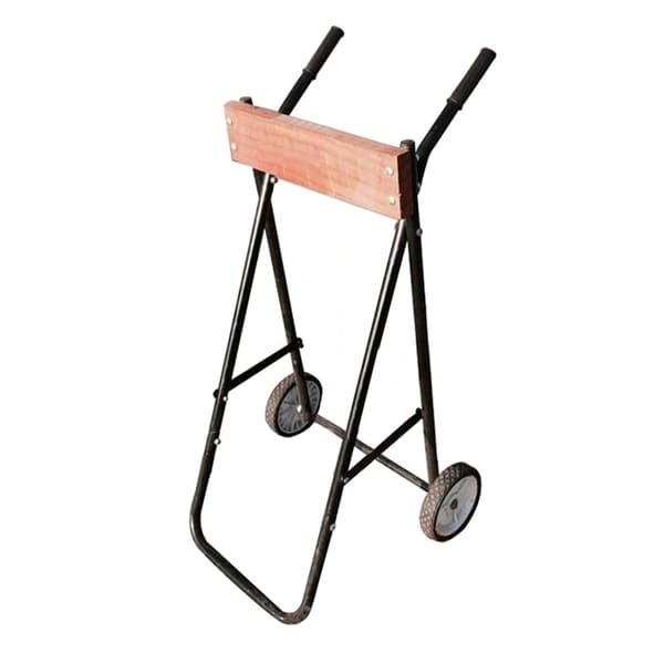 ALEKO Folding Outboard Motor Rolling Cart and Storage Stand