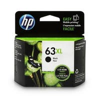 Original HP 63XL High Yield Black Ink Cartridge,F6U64AN