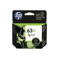 Original HP 63XL High Yield Tri-color Ink Cartridge,F6U63AN