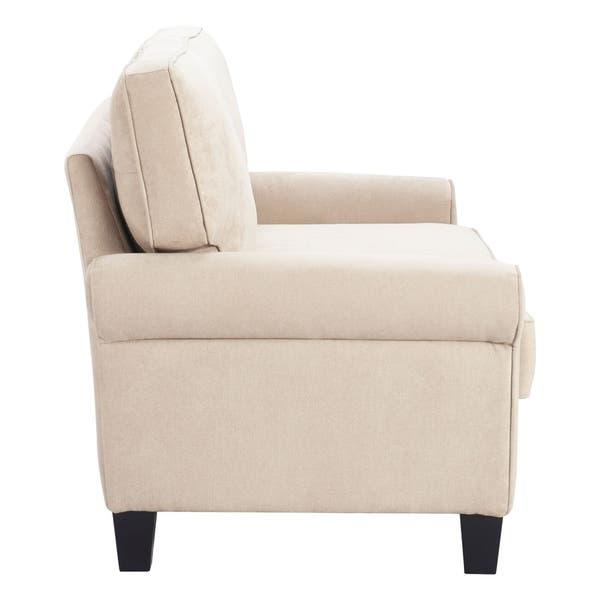 Admirable Shop Serta Copenhagen 61 Round Arm Fabric Loveseat With Inzonedesignstudio Interior Chair Design Inzonedesignstudiocom
