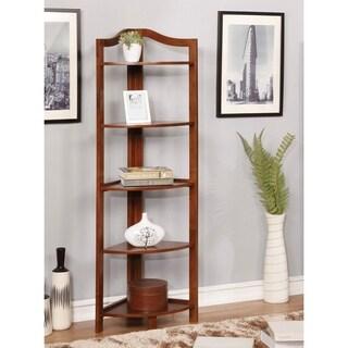 Copper Grove Sagarejo 5-tier Corner Bookshelf