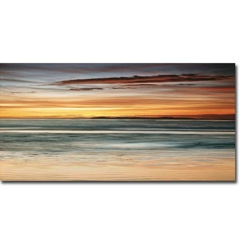 Sea and Sky by John Seba Gallery Wrapped Canvas Giclee Art