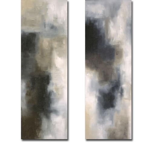 Light and Shade I & II by Laurie Maitland 2-piece Gallery Wrapped Canvas Giclee Art Set