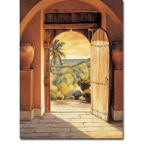 Mar Vista by Eduardo Gallery Wrapped Canvas Giclee Art
