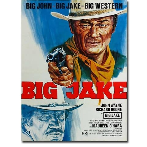Big Jake by Anonymous Gallery Wrapped Canvas Giclee Art