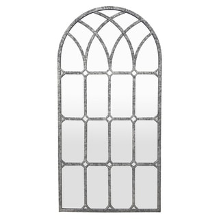 Three Hands Metal Wall Decor Mirror - Transitional - 15.75 X 0.5 X 31.5