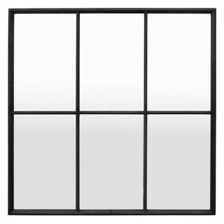 Three Hands Metal Wall Mirror Decoration - Horizontal - 35.25 X 0.75 X 35.25