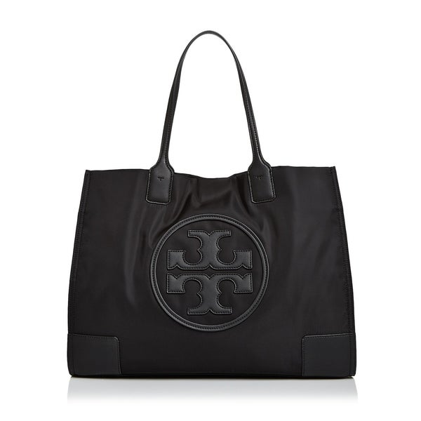 a250b54944c6 Shop Tory Burch Ella Nylon Tote Black - Free Shipping Today ...