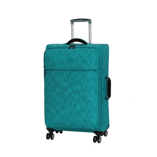 it luggage Stitched Squares 26.8-inch Lightweight Expandable Spinner Suitcase