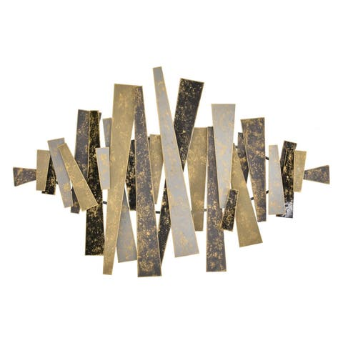 Three Hands Brown Metal 24-inch Wall Decor