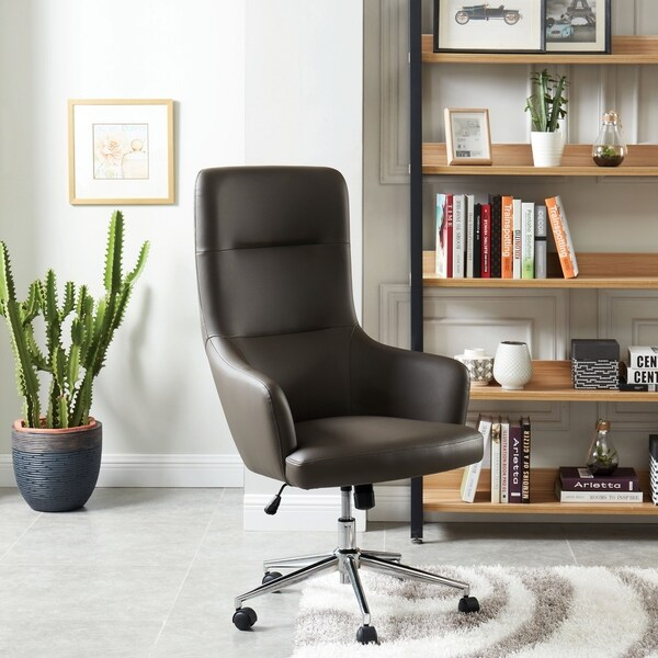 Copper Grove Karlovac Breathable Leatherette Office Chair