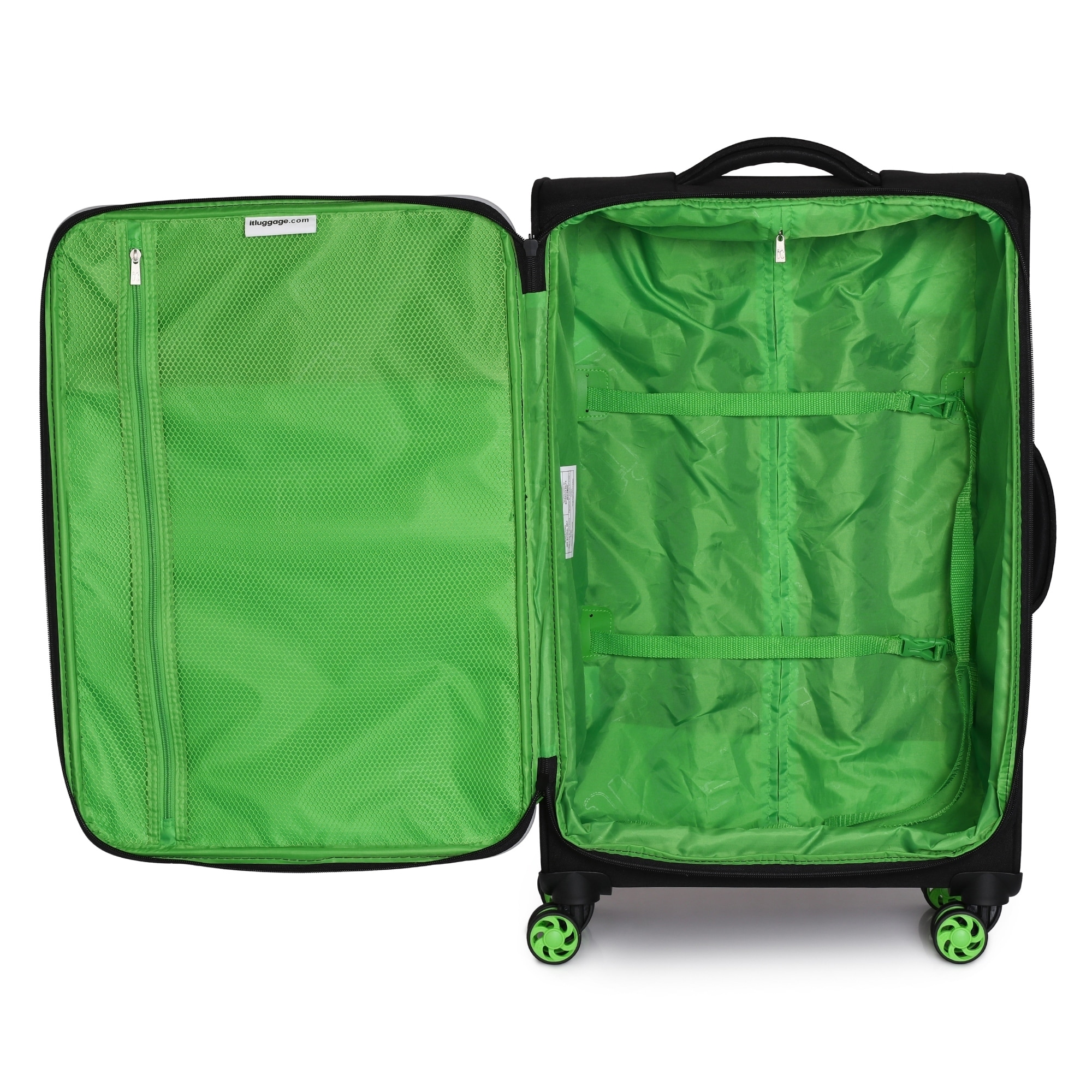 it-luggage-Filament-27-4-inch-Lightweight-Expandable-Spinner-Suitcase-27-4-034 thumbnail 8
