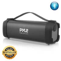 Pyle PBMSQG5 Wireless Portable Bluetooth Speaker 100 Watt Power Rugged Compact Audio Stereo System with Rechargeable Battery
