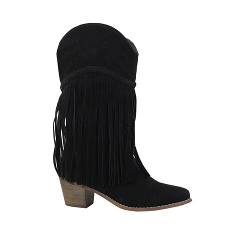 YOKI-SAINT-42 Women's Fringe Boots