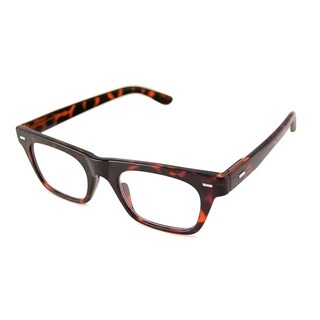 Gabriel + Simone Lyon Tortoise Unisex Reading Glasses - Brown