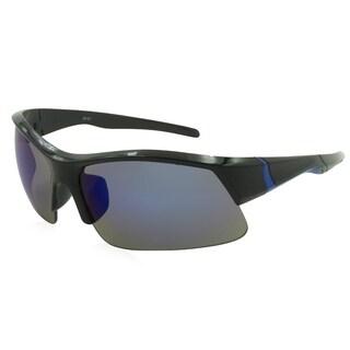 Alta Vision Sport Boulder Unisex Sunglasses - Black / Blue