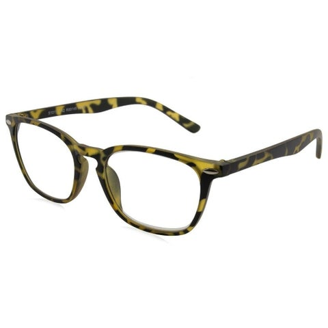 Able Vision R99148 Yellow Tortoise Unisex Reading Glasses
