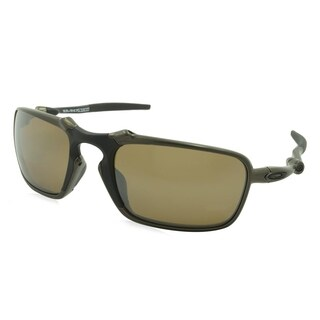 Oakley Badman Men Sunglasses - Silver