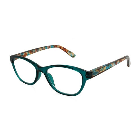 Gabriel + Simone Beatrice Green Women Reading Glasses