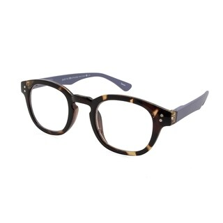 Gabriel + Simone Evon Tortoise Grey Unisex Reading Glasses