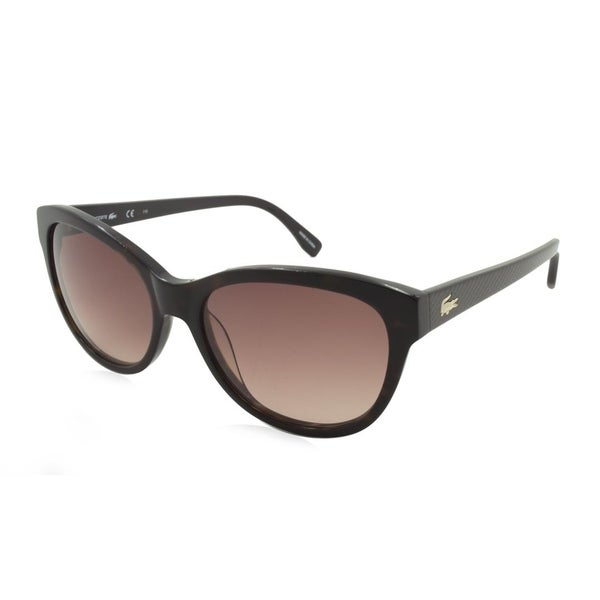 958ff31e8bdd Shop Lacoste L785S Women Sunglasses - Brown - Free Shipping Today -  Overstock - 23447291