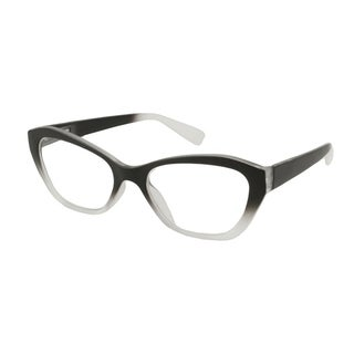 Gabriel + Simone Ruby Black Fade Women Reading Glasses - Clear