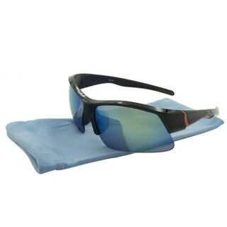 Alta Vision Sport Boulder Unisex Sunglasses - black / green