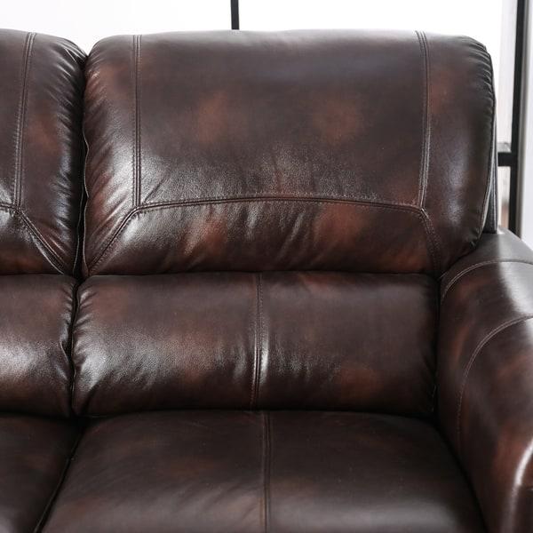 Richmond Leather Match Sofa