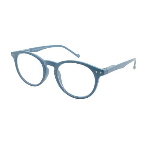 Gabriel + Simone Aubrie Light Blue Women Reading Glasses