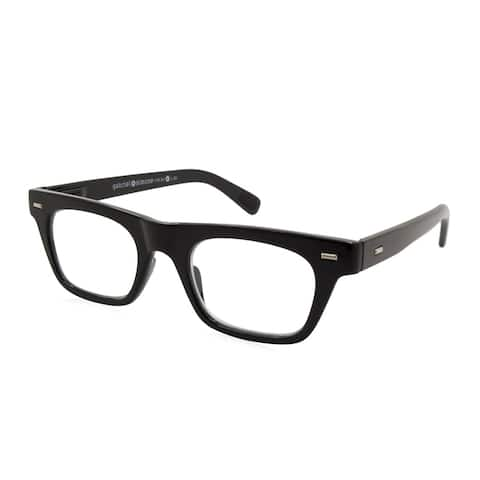 Gabriel + Simone Lyon Black Unisex Reading Glasses