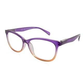 Gabriel + Simone Zoe Purple Orange Fade Women Reading Glasses