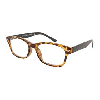 91f49ab2675 Gabriel + Simone Metro Tortoise and Black Unisex Reading Glasses - Brown