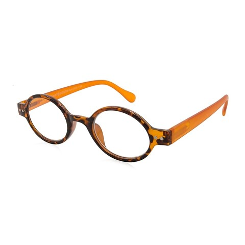Gabriel + Simone Remi Orange Tortoise Unisex Reading Glasses