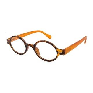 Gabriel + Simone Remi Orange Tortoise Unisex Reading Glasses