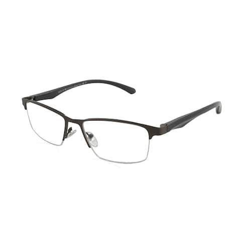Gabriel + Simone Bruno Gunmetal Men Reading Glasses