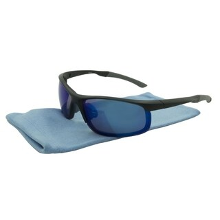 Alta Vision Sport Vail Unisex Sunglasses - black and grey / blue