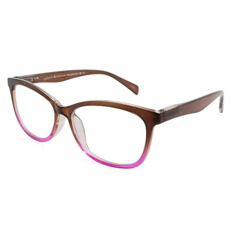 Gabriel + Simone Zoe Brown Pink Fade Women Reading Glasses