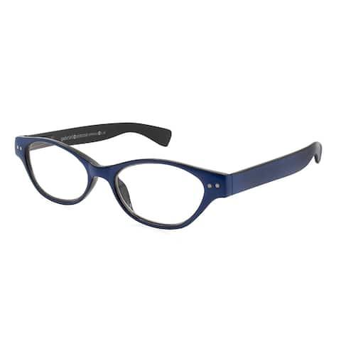 Gabriel + Simone Le Maire Blue/Black Women Reading Glasses - Blue