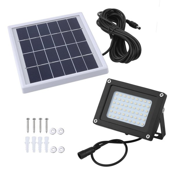 54 LED Light Sensor Solar Flood Spot Lamp GardenOutdoor Security Light