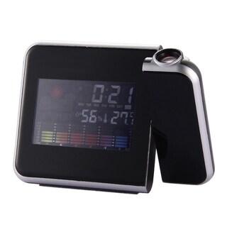 Digital Weather LCD Snooze Alarm Clock LED Display Backlight Clocks