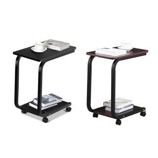 Copper Grove Shengjin 2-tier Modern Portable Rolling Cart Sofa Table (2 Colors)