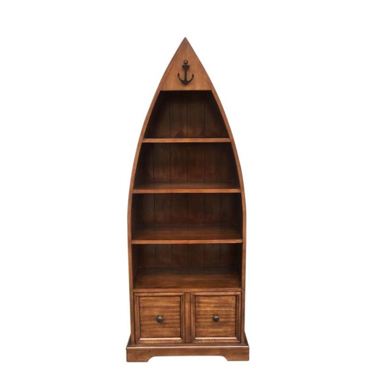 Cherry Boat Bookcase