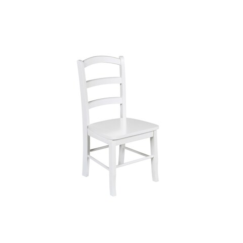 Bayfront White Student Chair