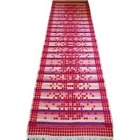 Oyo Concept Double Sided Runner Rugs  Red - 2'8 x 10'