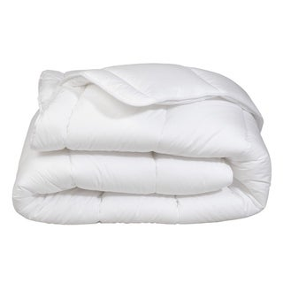 Super Soft Oversized Lightweight White Down Alternative Comforter All Season!