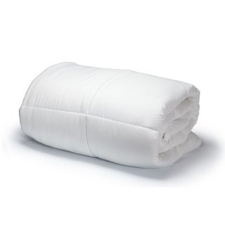 Luxury Soft Oversized Lightweight White Down Alternative Comforter All Season!