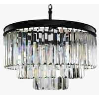 6-light Modern Contemporary Crystal Chandelier Ceiling Light Pendant