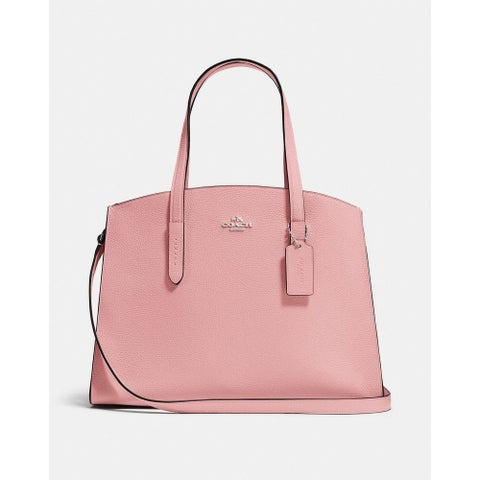 Coach Charlie Carryall Peony Pink