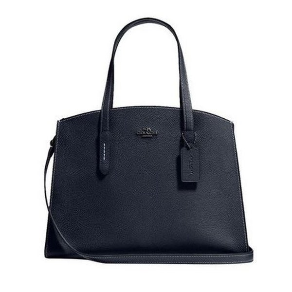 c7dec7a5035 Shop Coach Charlie Carryall Midnight Navy - On Sale - Free Shipping ...